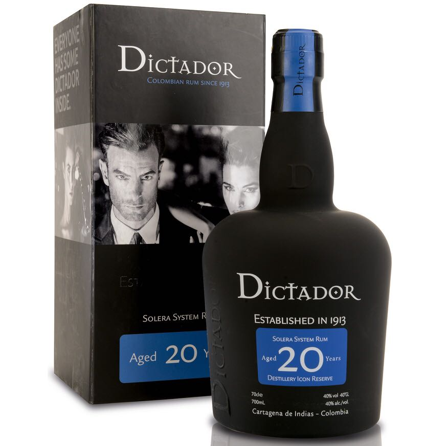 Bottle image of Dictador 20 Years