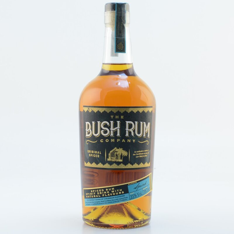 Bottle image of Bush Rum Company Original spiced