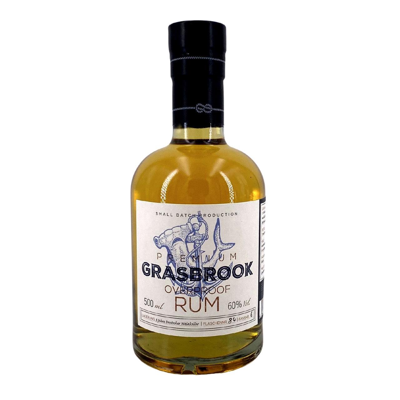 Bottle image of Grasbrook Overproof