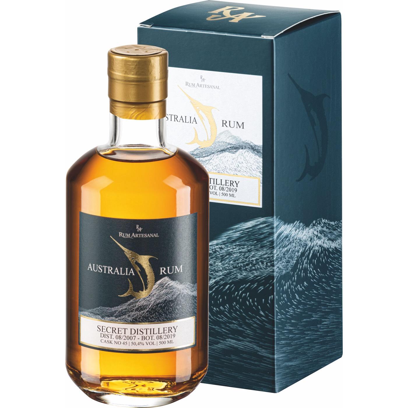 Bottle image of Rum Artesanal Australia Rum MAIC10