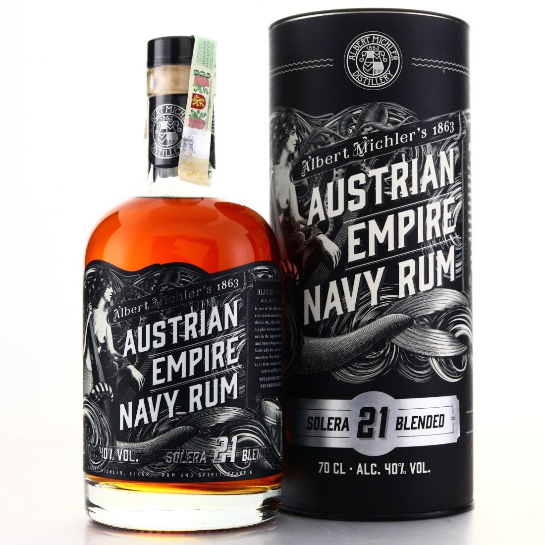 Bottle image of Austrian Empire Navy Rum Solera 21