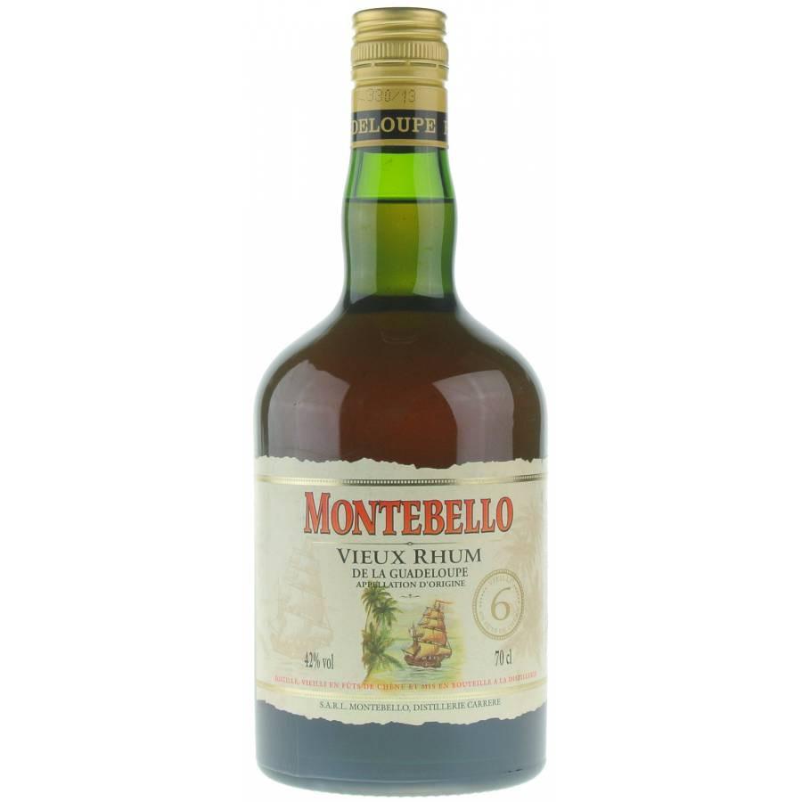 Bottle image of Montebello Rhum Vieux 6 ans