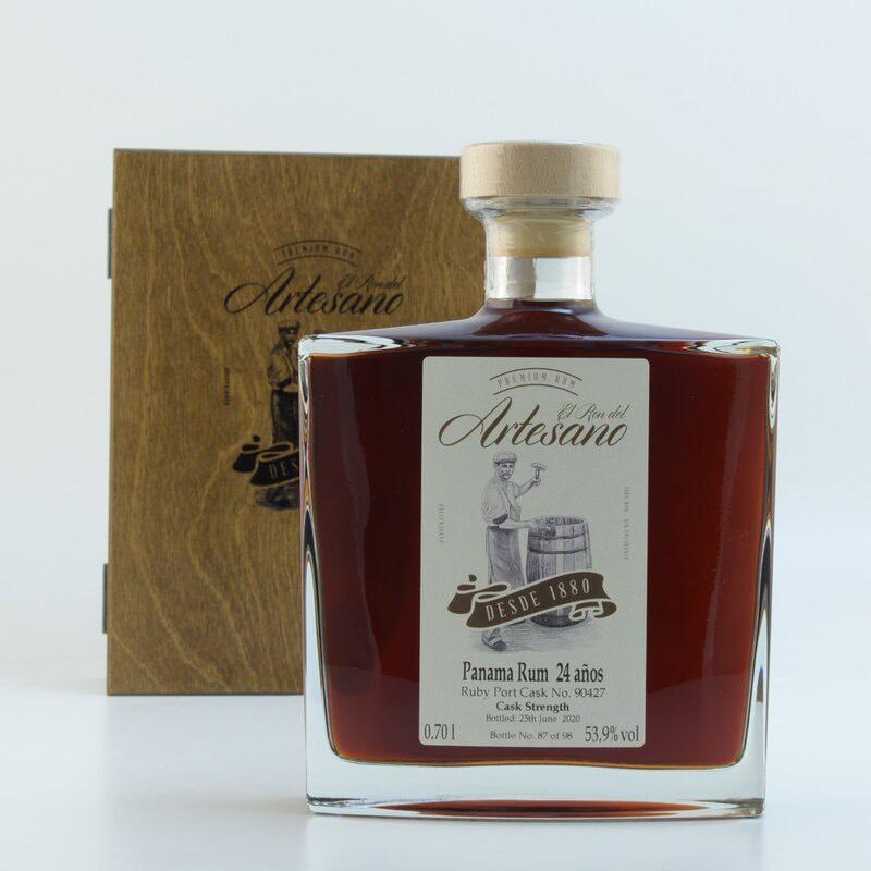 Bottle image of Panama Rum - Ruby Port Cask Finish
