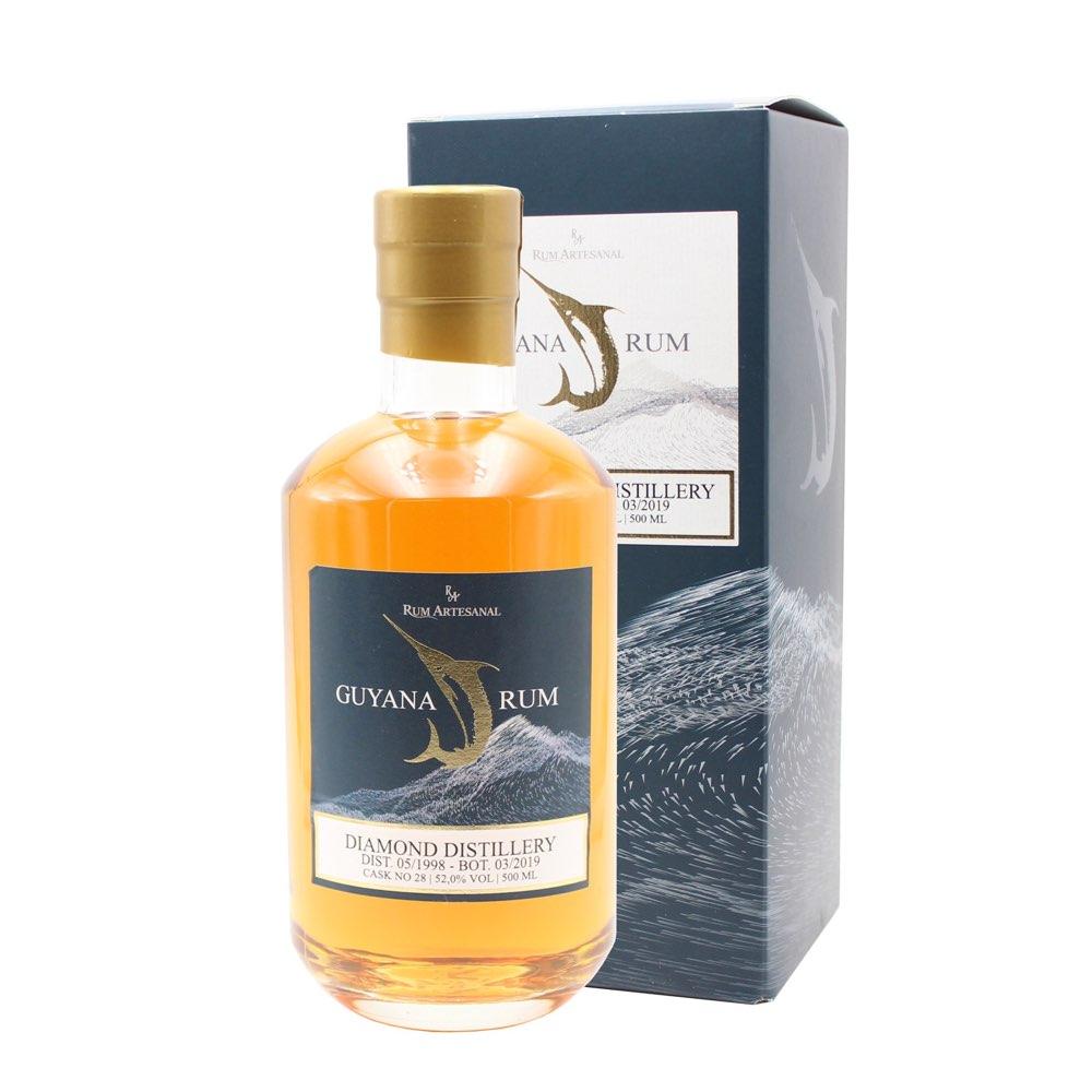 Bottle image of Rum Artesanal Guyana Rum