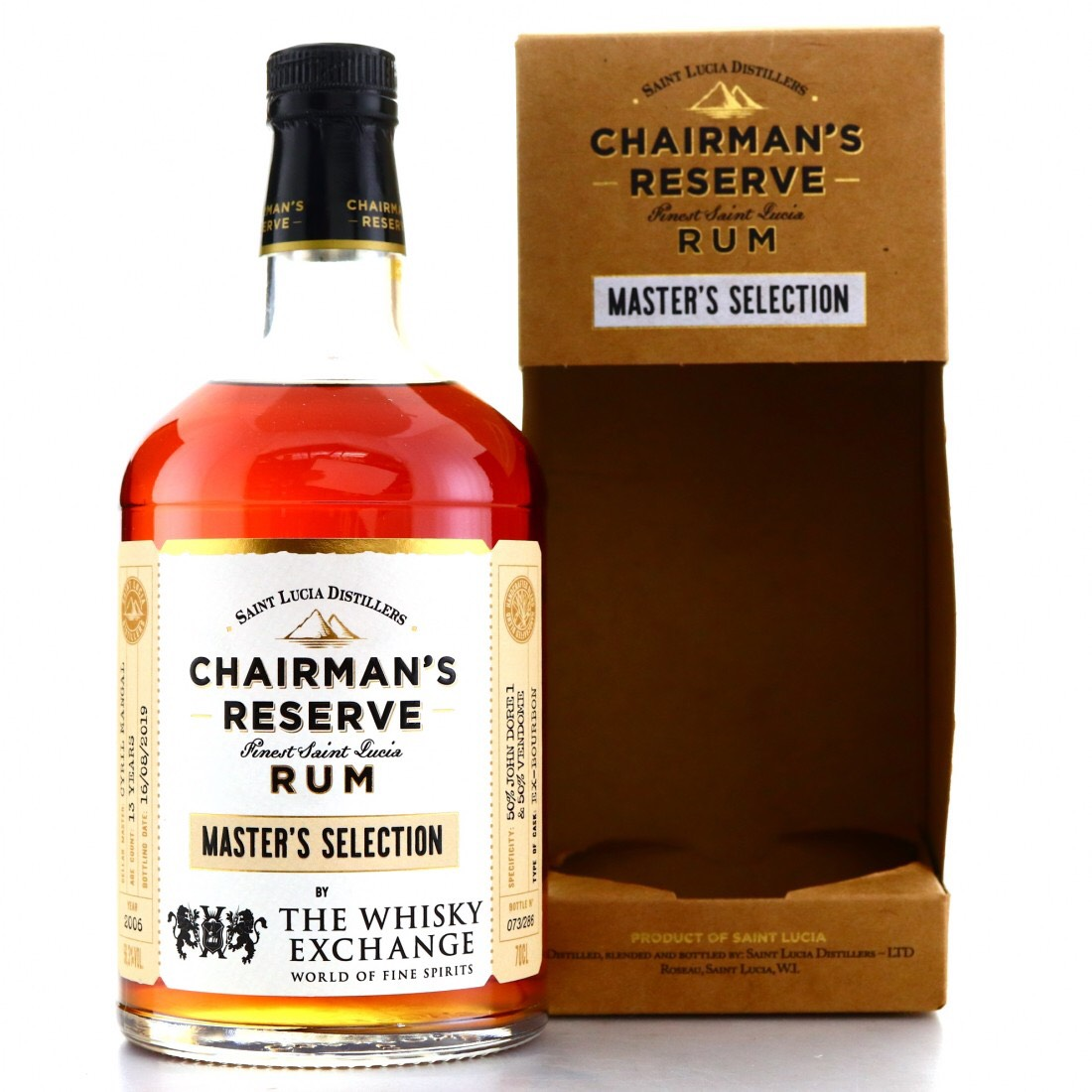 Bottle image of Chairman's Reserve Master's Selection (The Whisky Exchange)