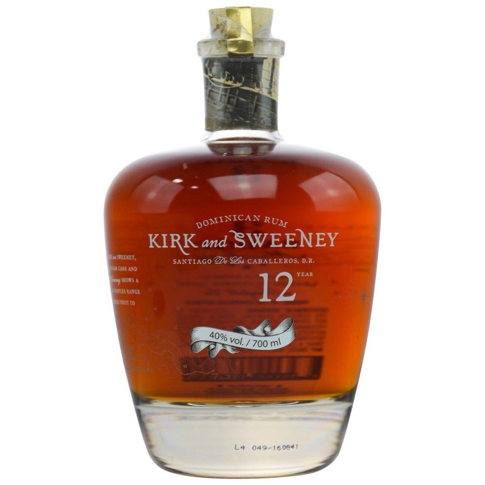 Bottle image of Kirk and Sweeney 12 Years