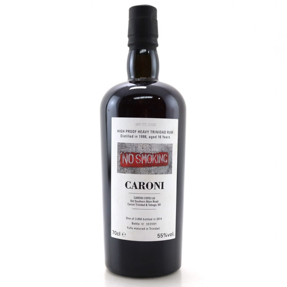 Bottle image of 33th Release High Proof Heavy Trinidad Rum HTR