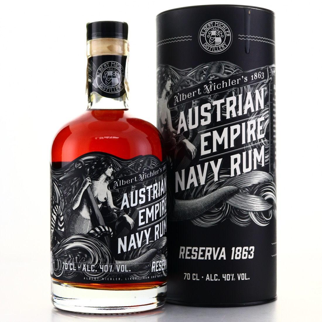 Bottle image of Austrian Empire Navy Rum Reserve 1863