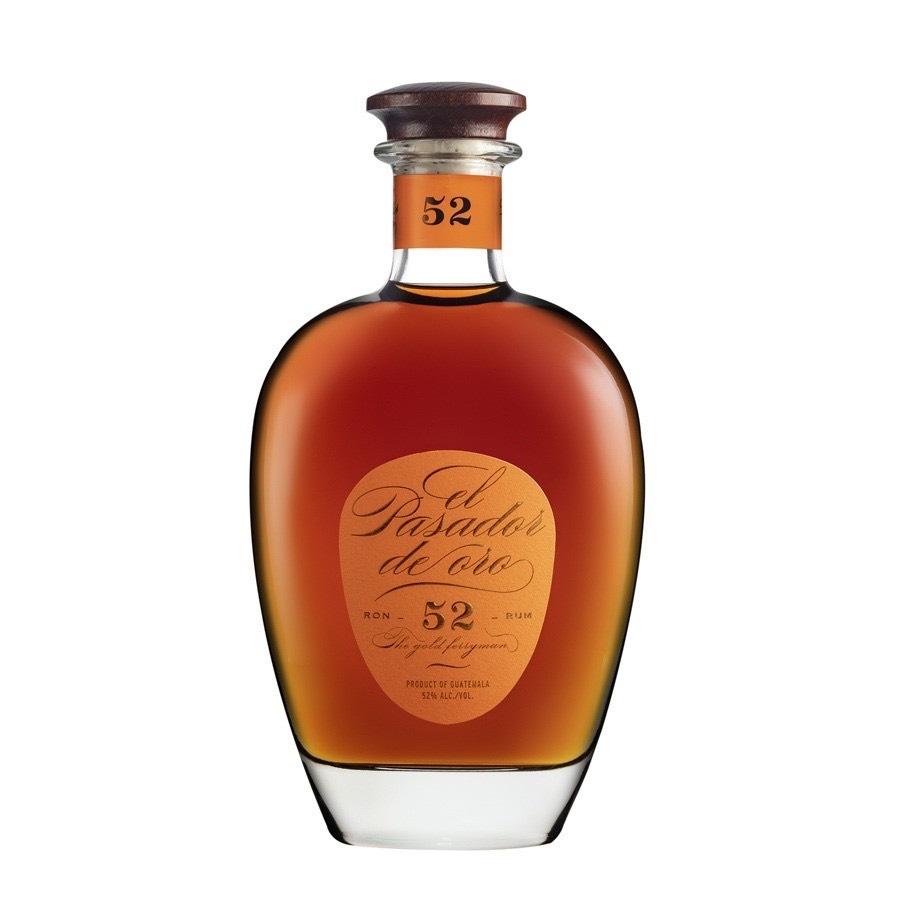 Bottle image of El Pasador Ron - 52 - Rum