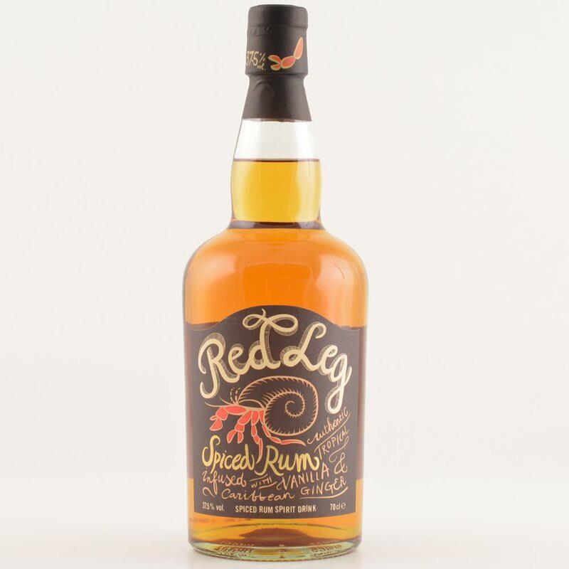 Bottle image of Red Leg Spiced Rum
