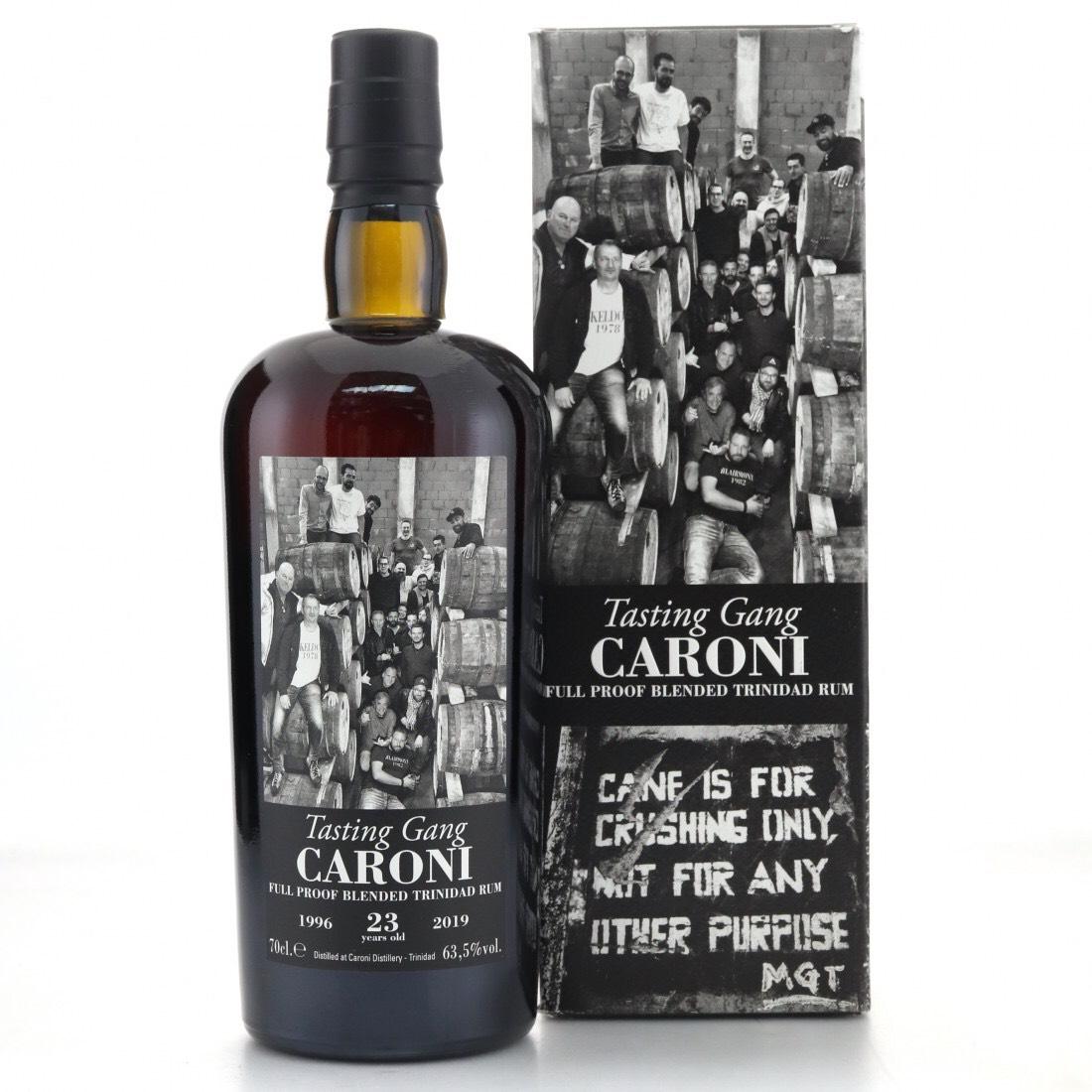 Bottle image of 38th Release Tasting Gang Blended Trinidad Rum