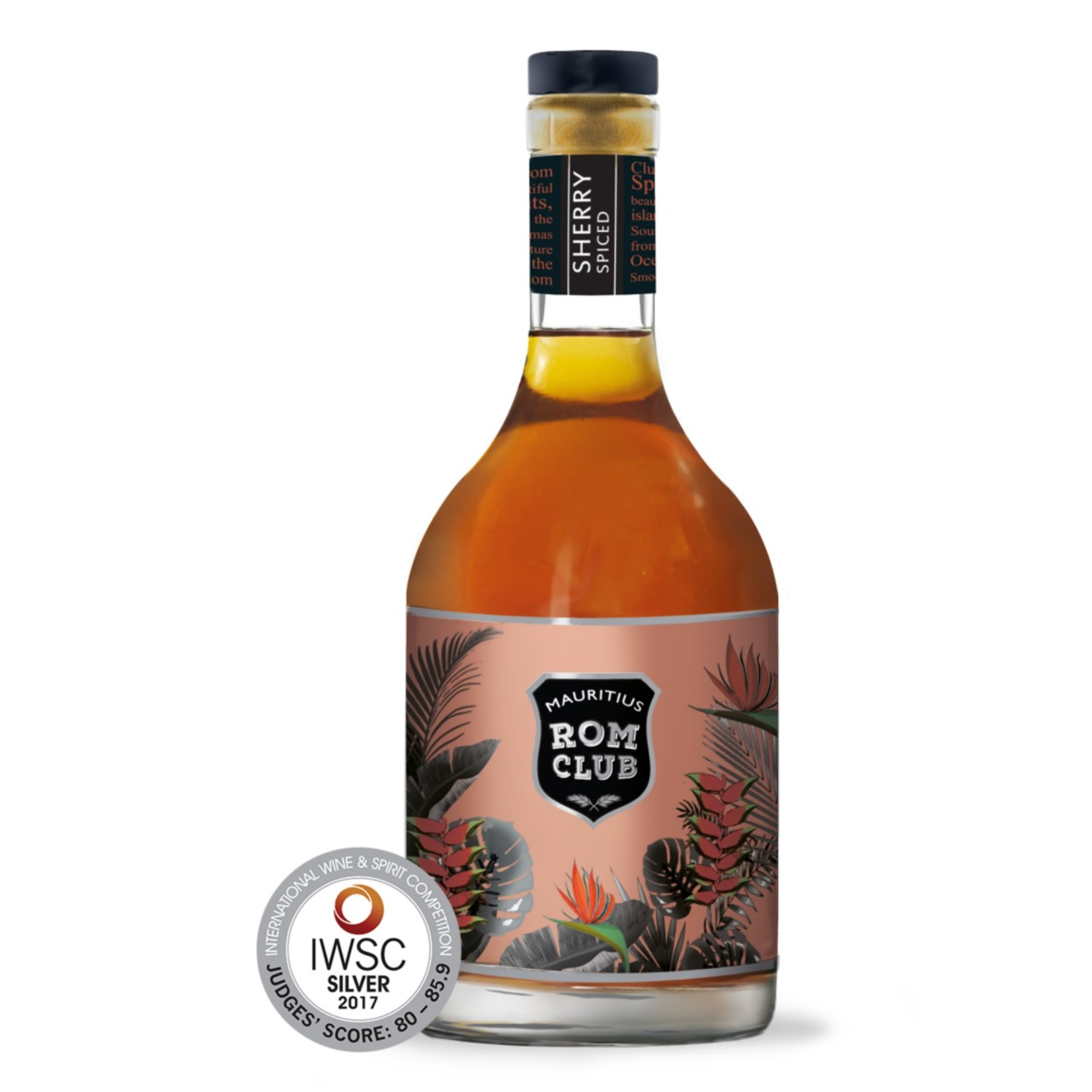Bottle image of Mauritius Rom Club Sherry Spiced