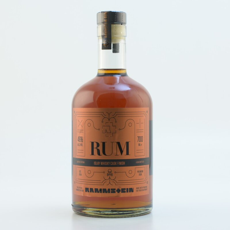 Bottle image of Rammstein Premium Rum - Islay Whisky Cask Finish