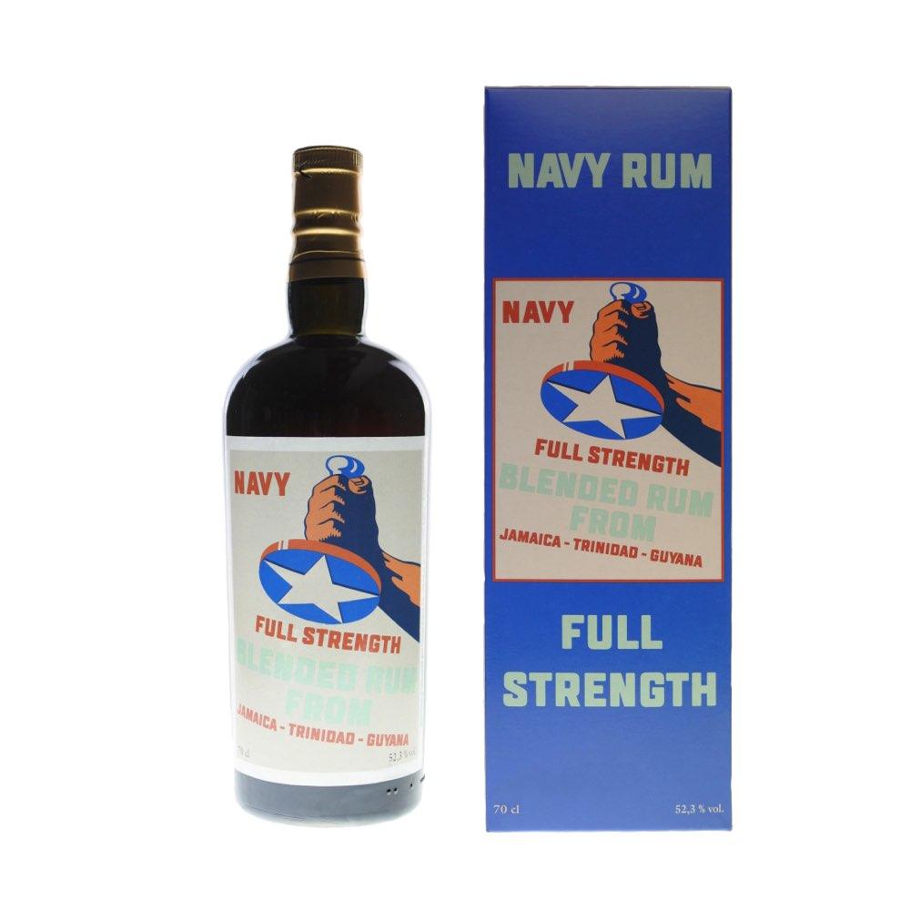 Bottle image of Navy Rum Full Strength Blended Rum