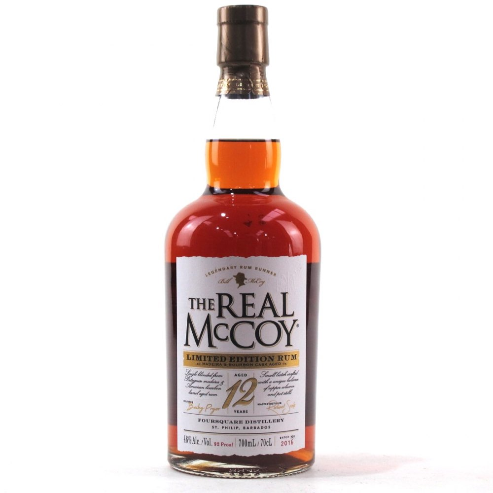Bottle image of The Real McCoy Limited Edition Rum (Madeira Cask)