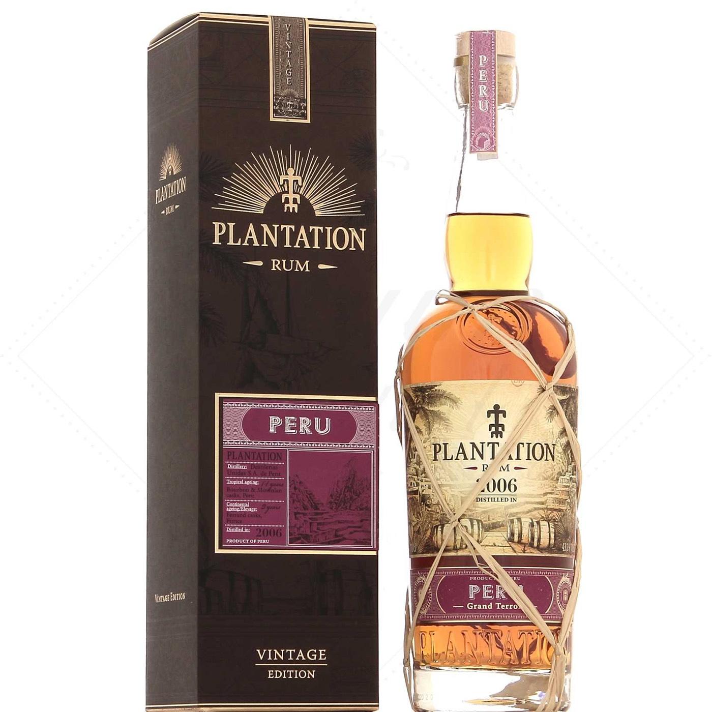 Bottle image of Plantation Peru