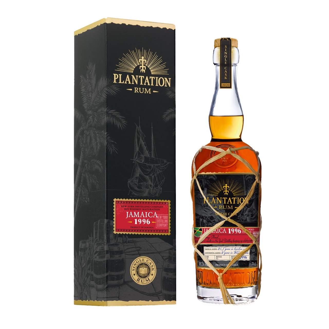 Bottle image of Plantation Jamaica Finish Rye Whiskey ITP - HJC