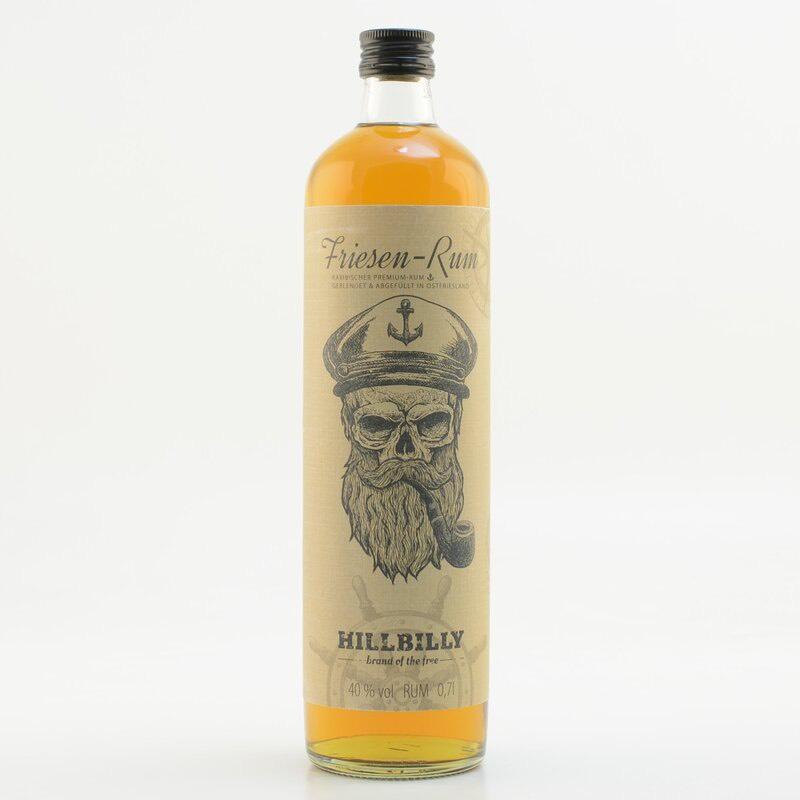 Bottle image of HILLBILLY Friesen-Rum