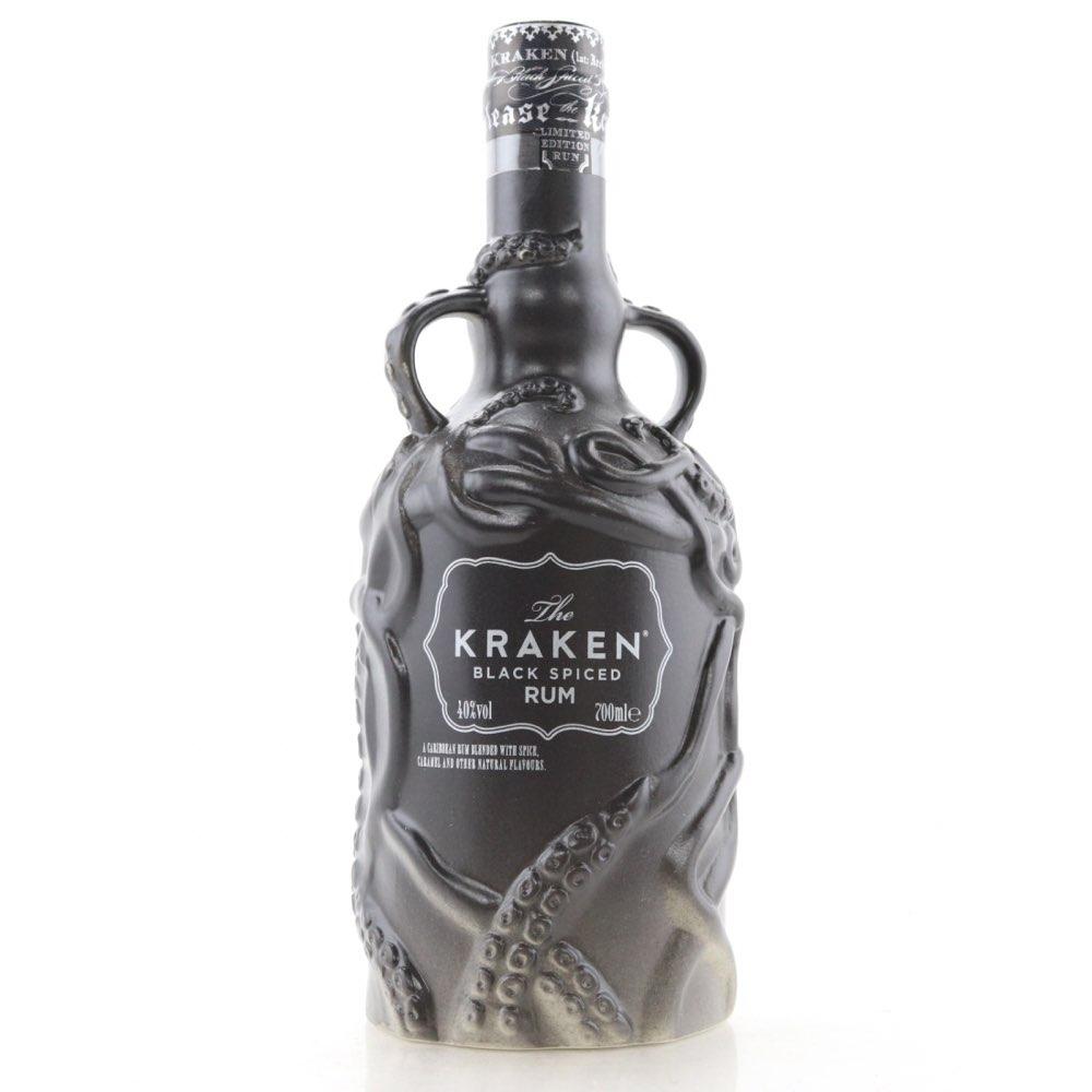 Bottle image of Black Spiced Rum Limited Edition Decanter Black