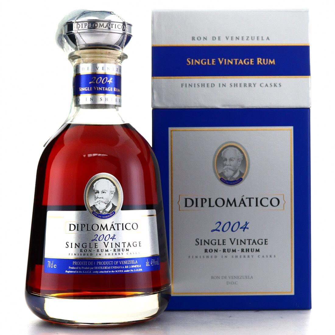 Bottle image of Diplomático / Botucal Single Vintage