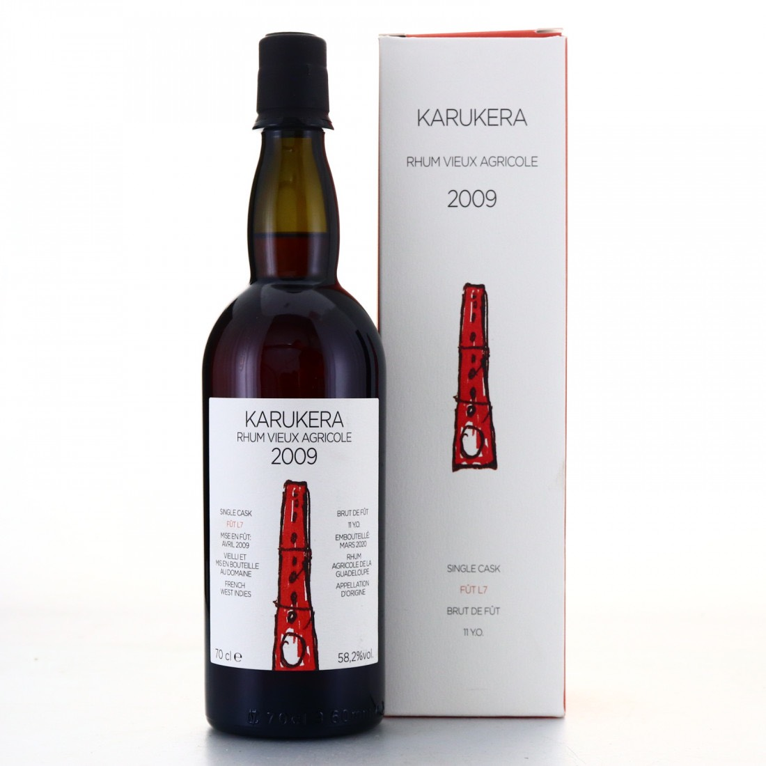 Bottle image of Karukera Japoniani Rhum Vieux Agricole