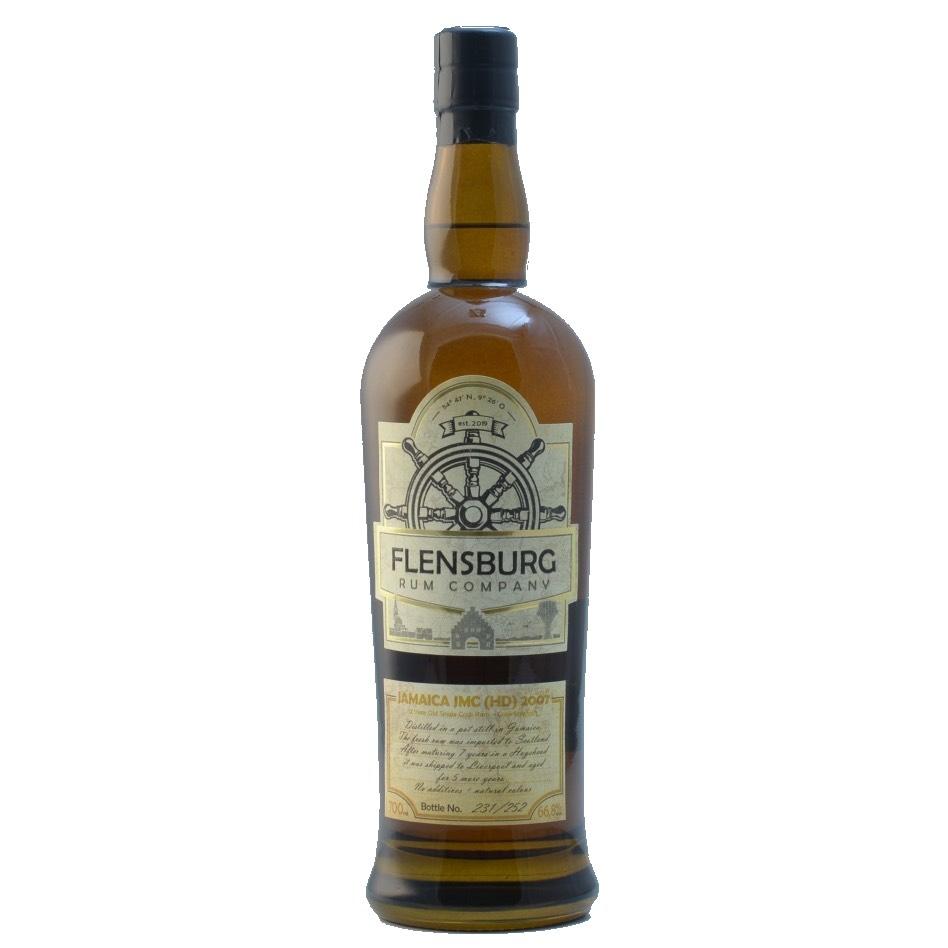 Bottle image of Flensburg Rum Company Jamaica JMC C<>H