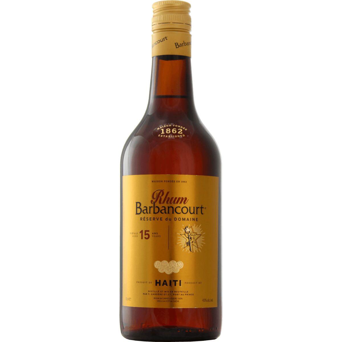Bottle image of Rhum vieux Réserve du Domaine
