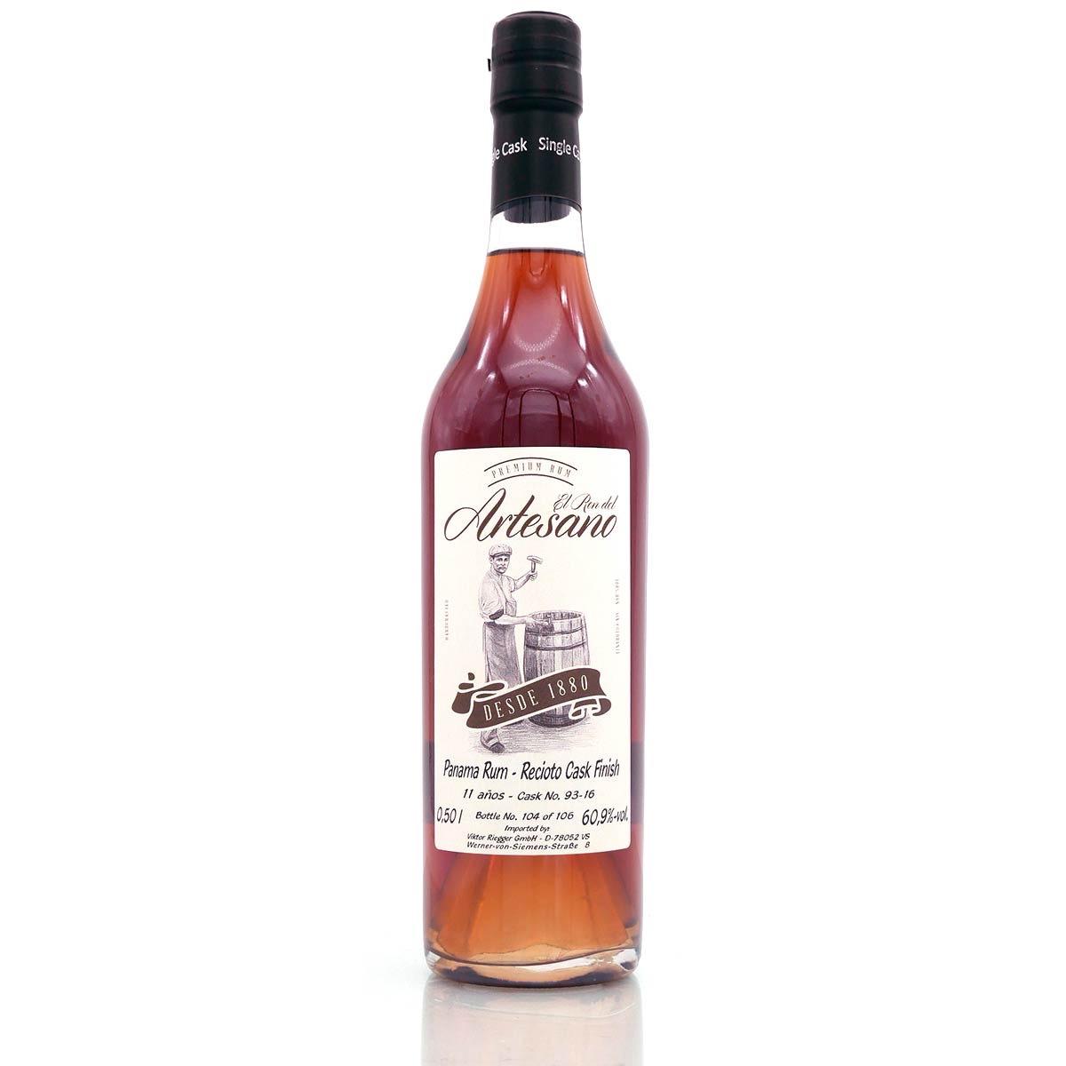 Bottle image of Panama Rum Recioto Cask Finish