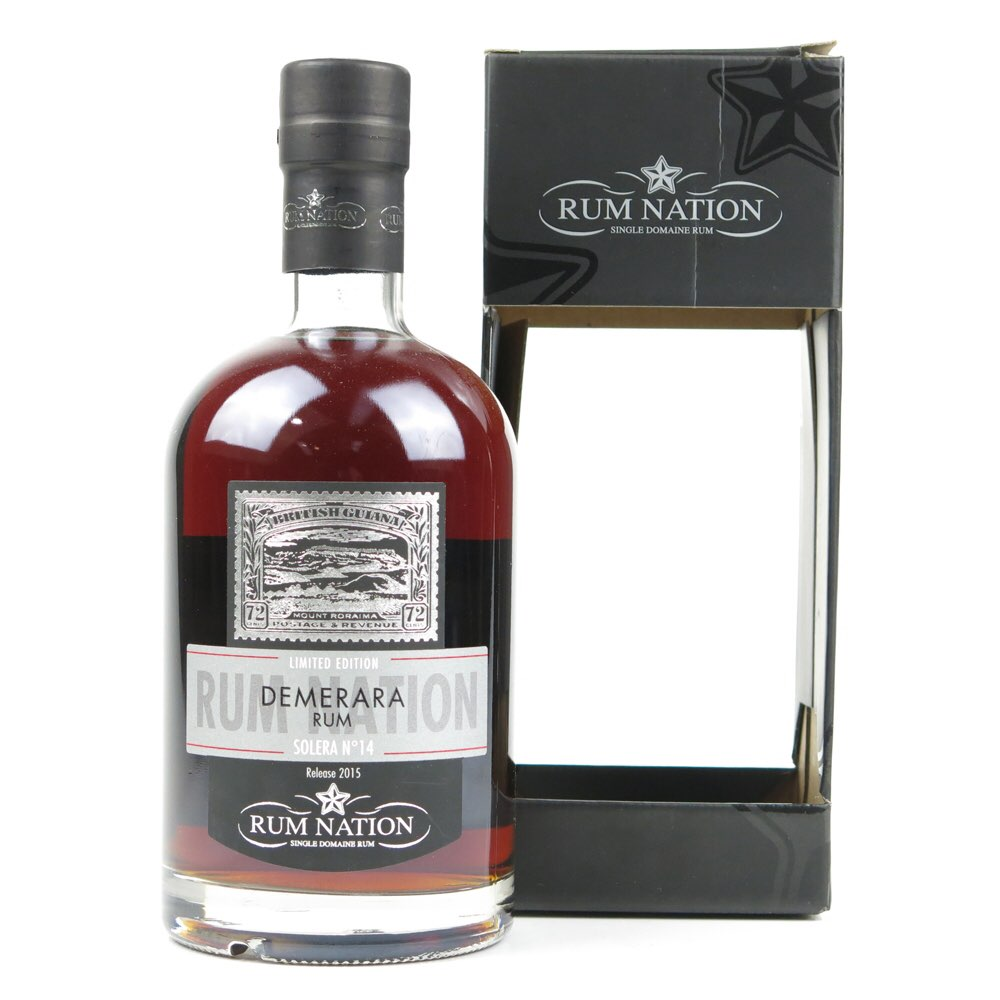 Bottle image of Demerara Rum Solera No. 14 2015