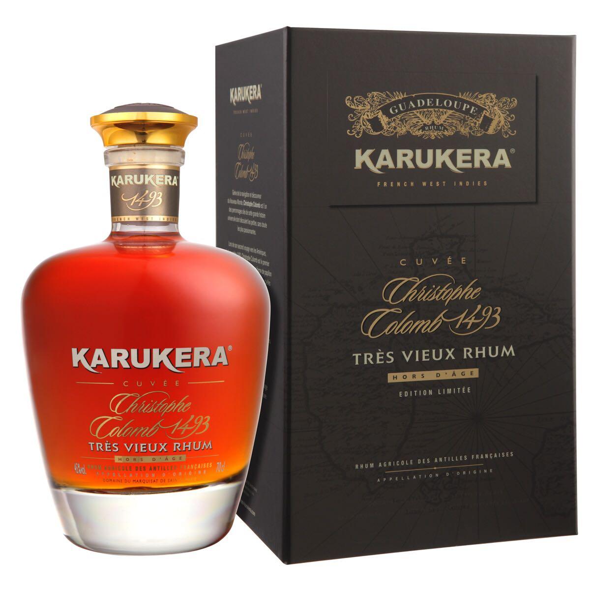 Bottle image of Karukera Cuvée Christophe Colomb 1493 Hors d'Age