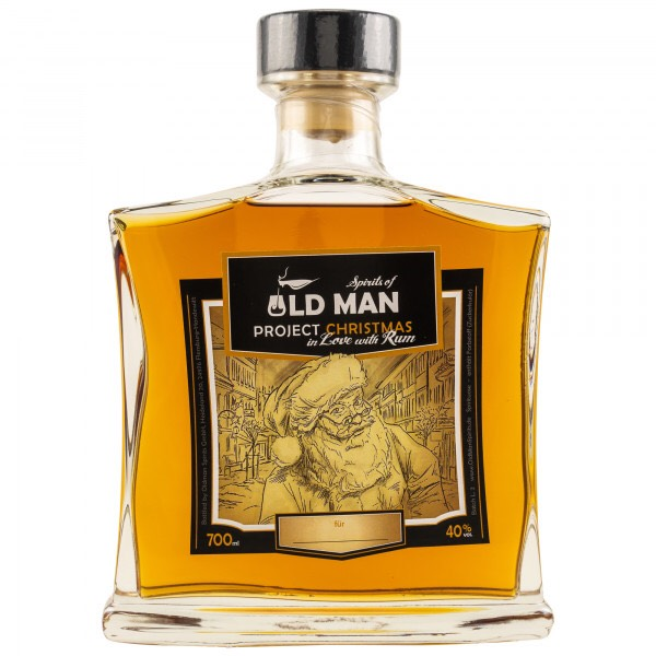 Bottle image of Spirits of Old Man Rum Project Christmas in Love with Rum