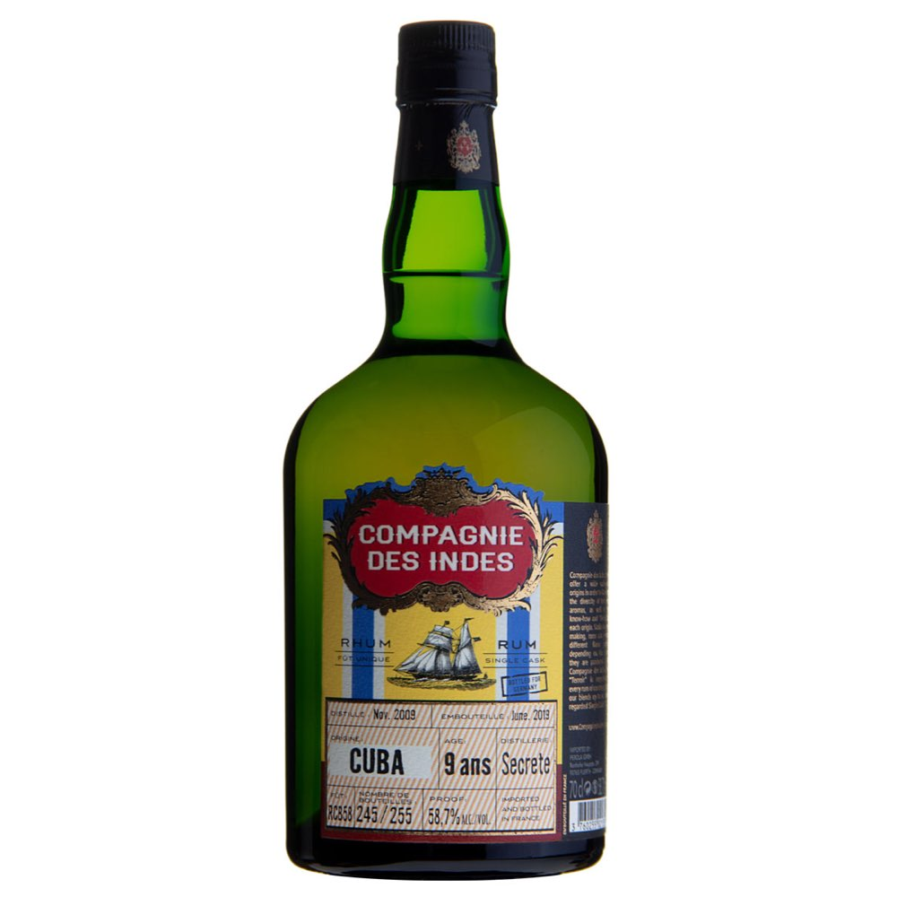 Bottle image of Cuba (Bottled for Germany)