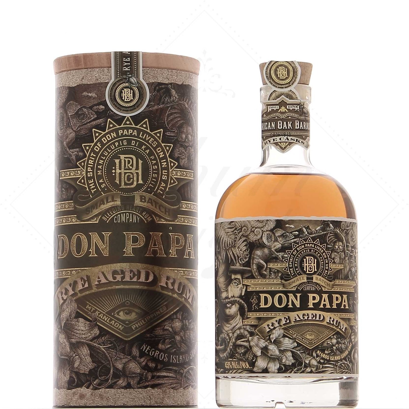 Bottle image of Don Papa Rye Cask Rum