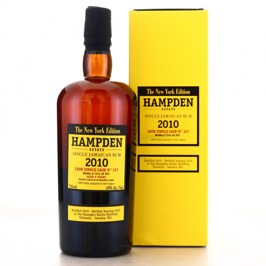 Bottle image of Single Cask The New York Edition