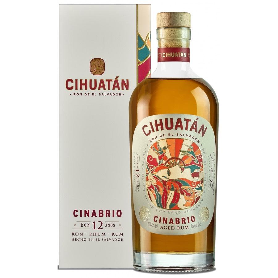 Bottle image of Cinabrio Ron 12 Años