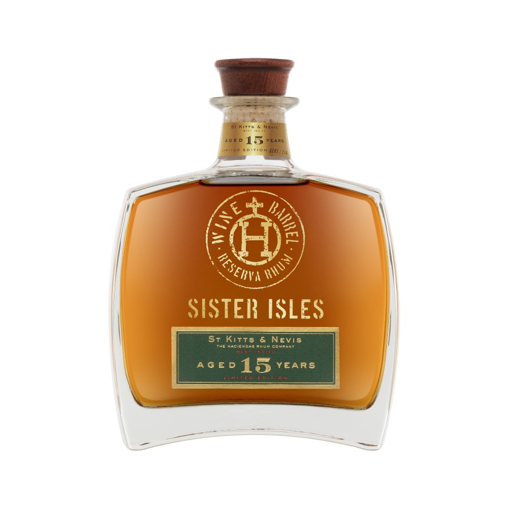 Bottle image of Sister Isles Aged 15 Years Rhum