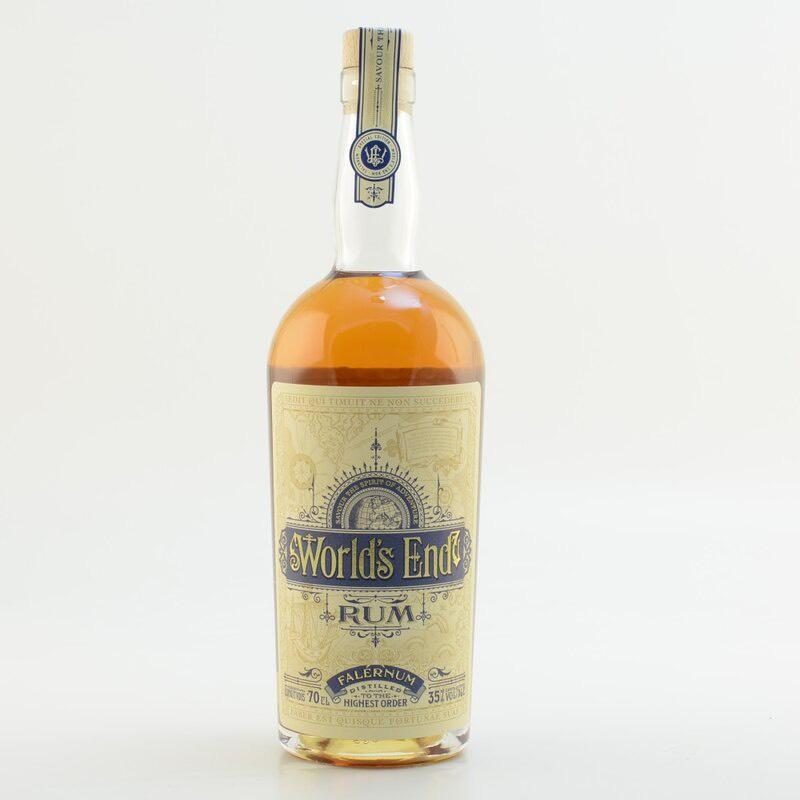 Bottle image of World's End Rum Falernum