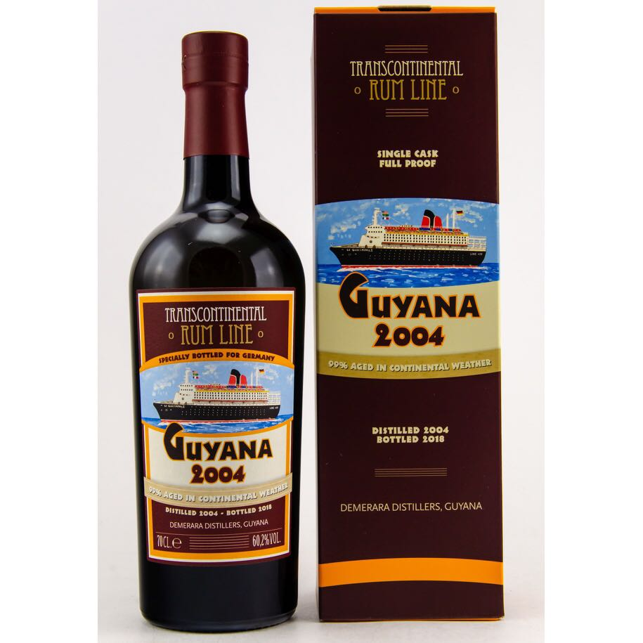 Bottle image of Guyana Single Cask (Kirsch Whisky)