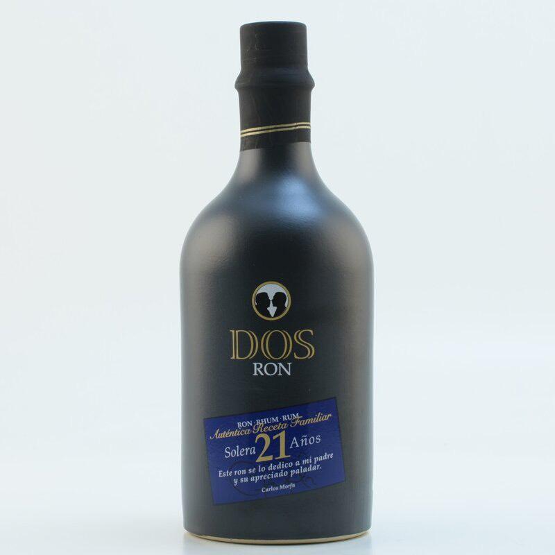 Bottle image of DOS Ron Solera 21 Años