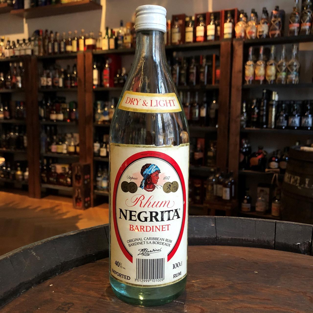 Bottle image of Rhum Negrita Bardinet Dry and Light