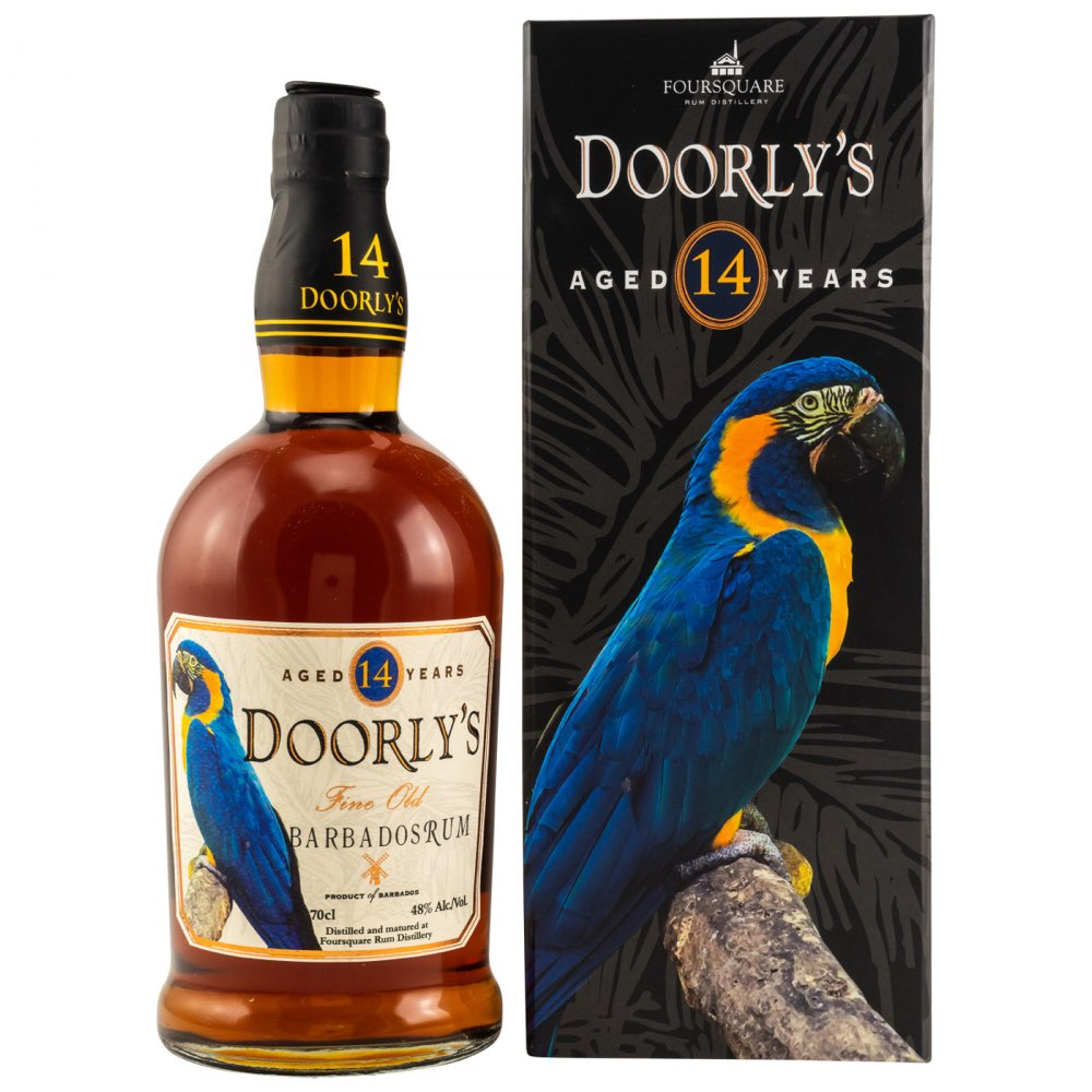Bottle image of Doorly's 14 Years