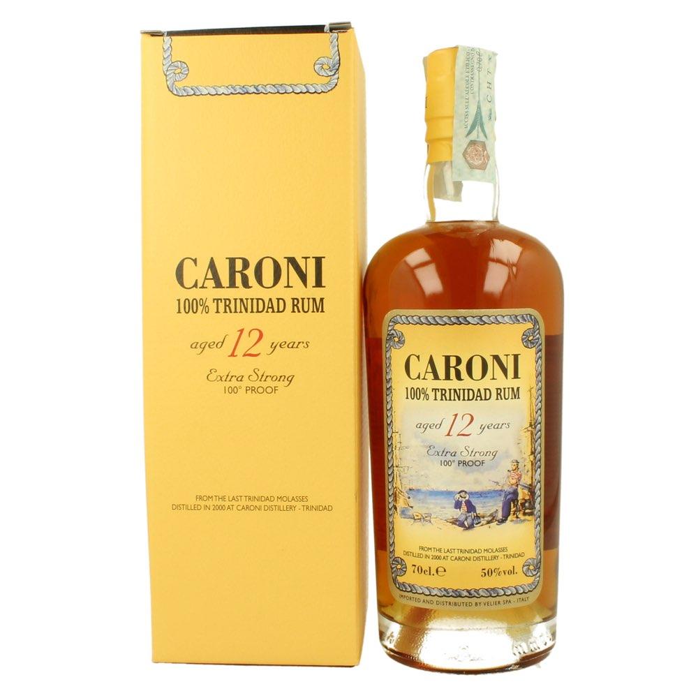 Bottle image of 100% Trinidad Rum 12 HTR