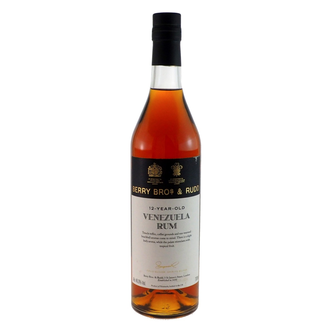 Bottle image of Venezuela Rum for Haromex Dev.