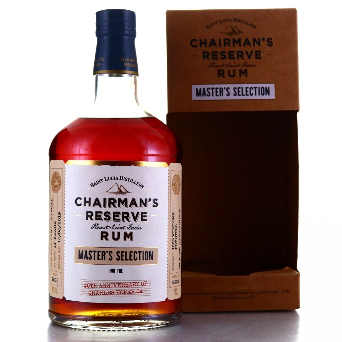 Bottle image of Chairman's Reserve Master's Selection 30th Anniversary of Charles Hofer