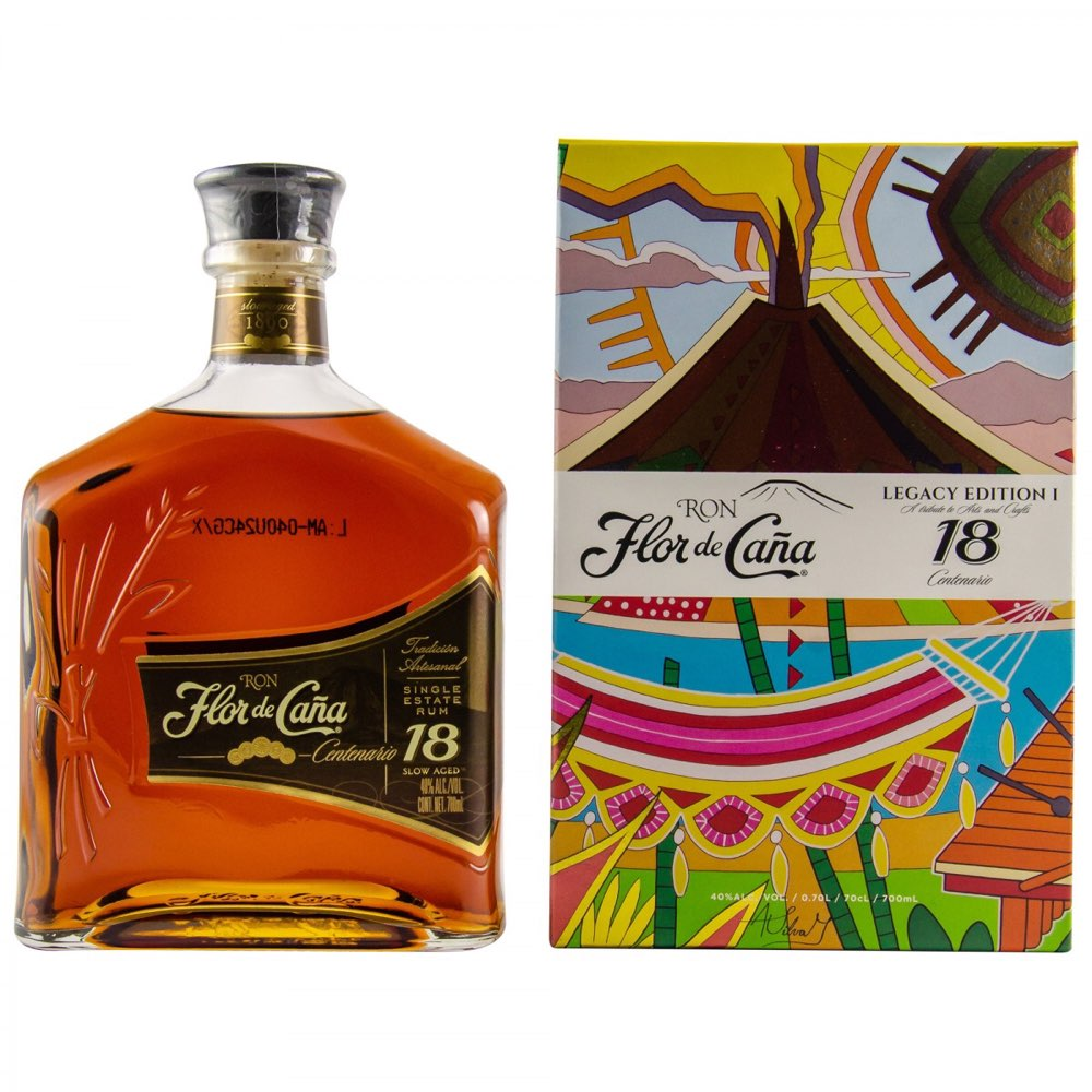 Bottle image of Flor de Caña Centenario 18 Años