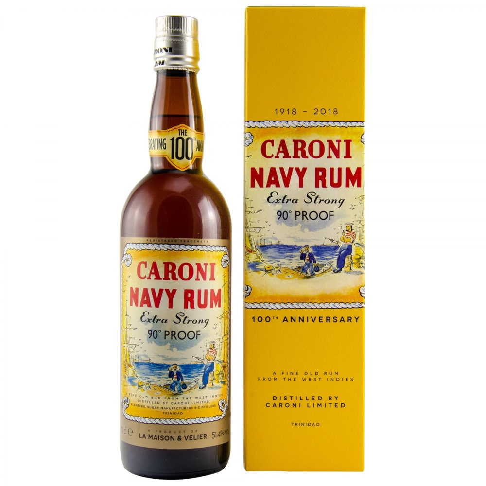 "Bottle image of Navy Rum 100th Anniversary ""Replica"" HTR"