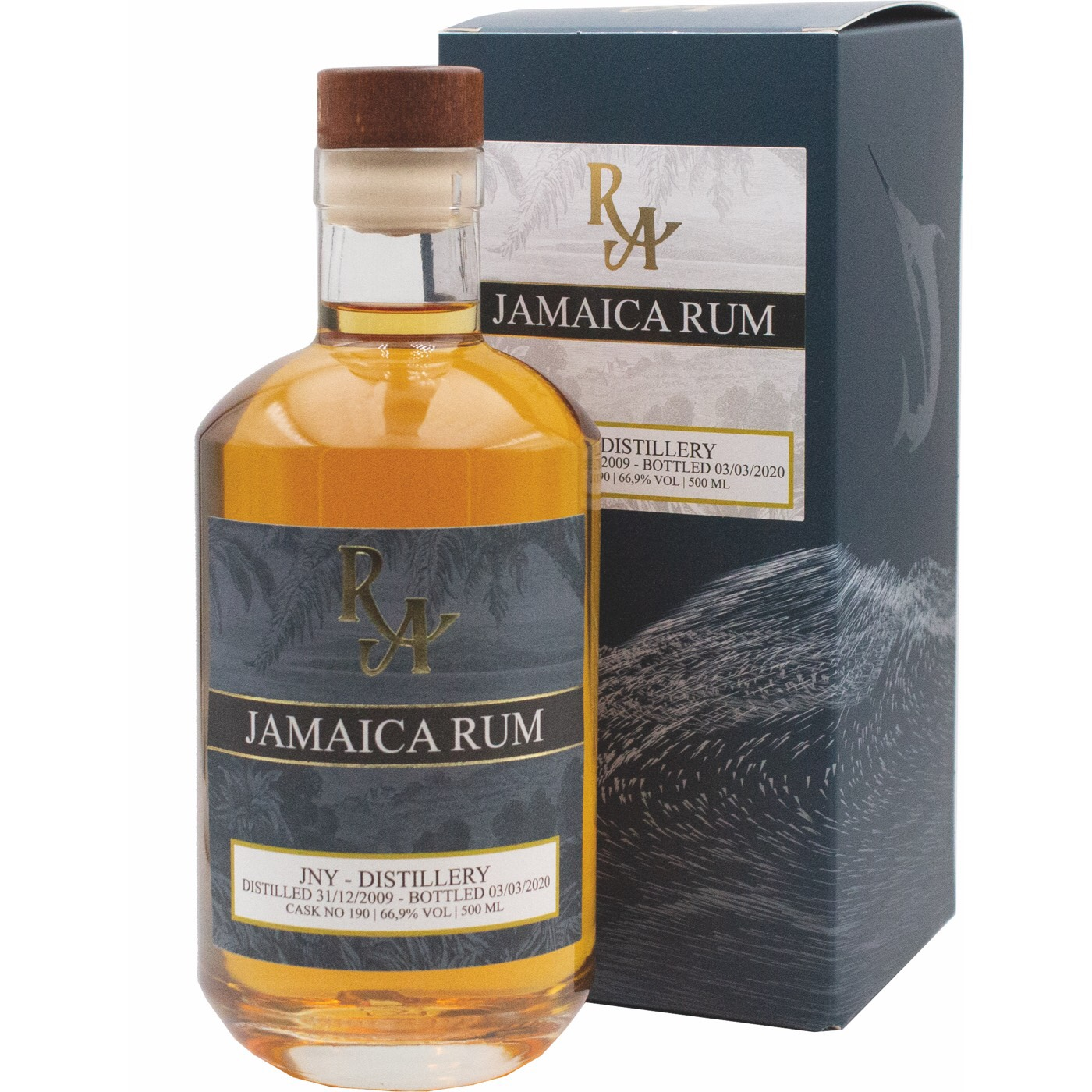 Bottle image of Rum Artesanal Jamaica Rum