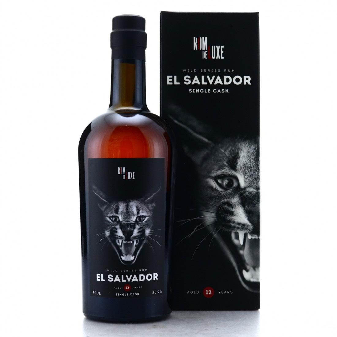 Bottle image of Wild Series Rum El Salvador No. 10