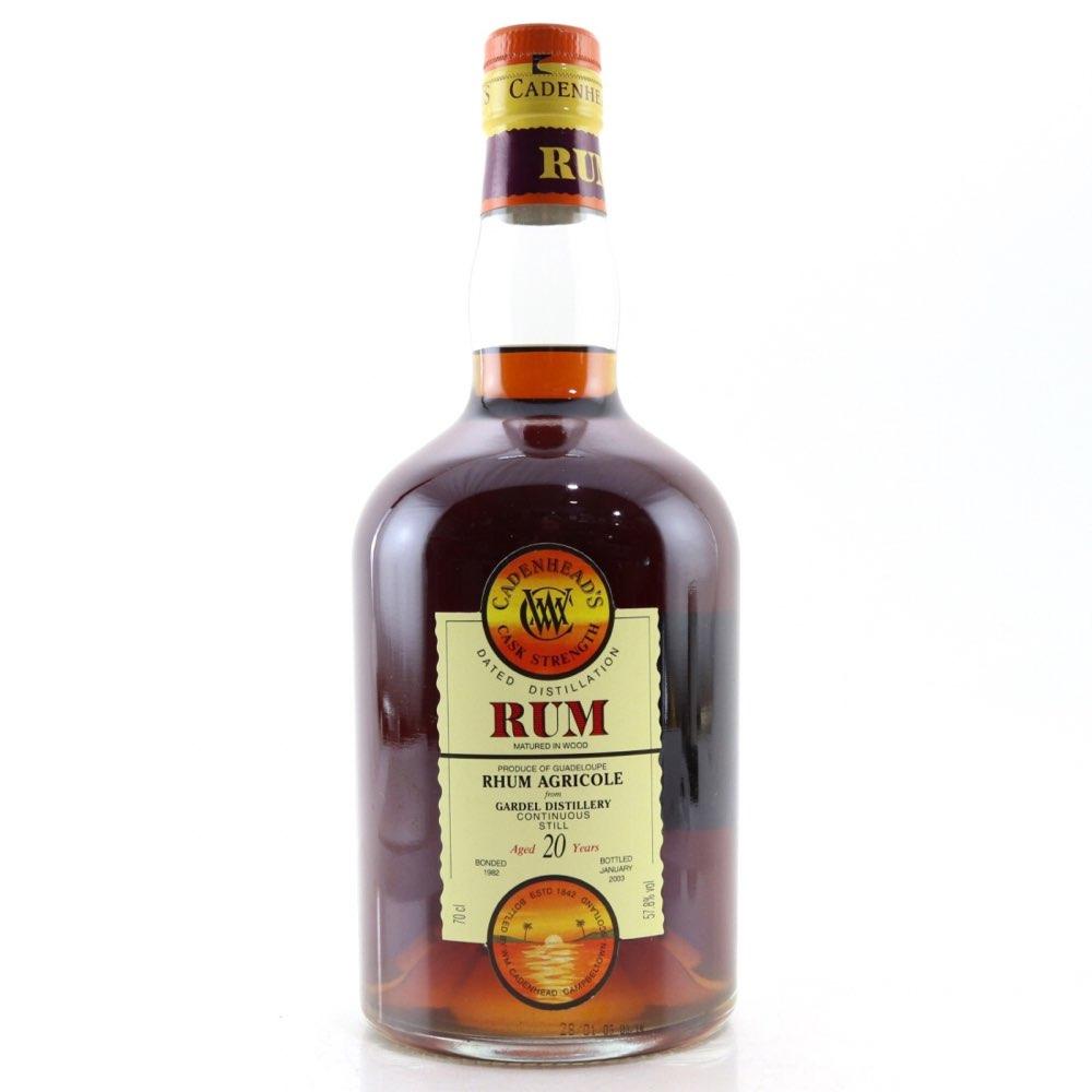 Bottle image of Gardel 1982 - Rhum Agricole