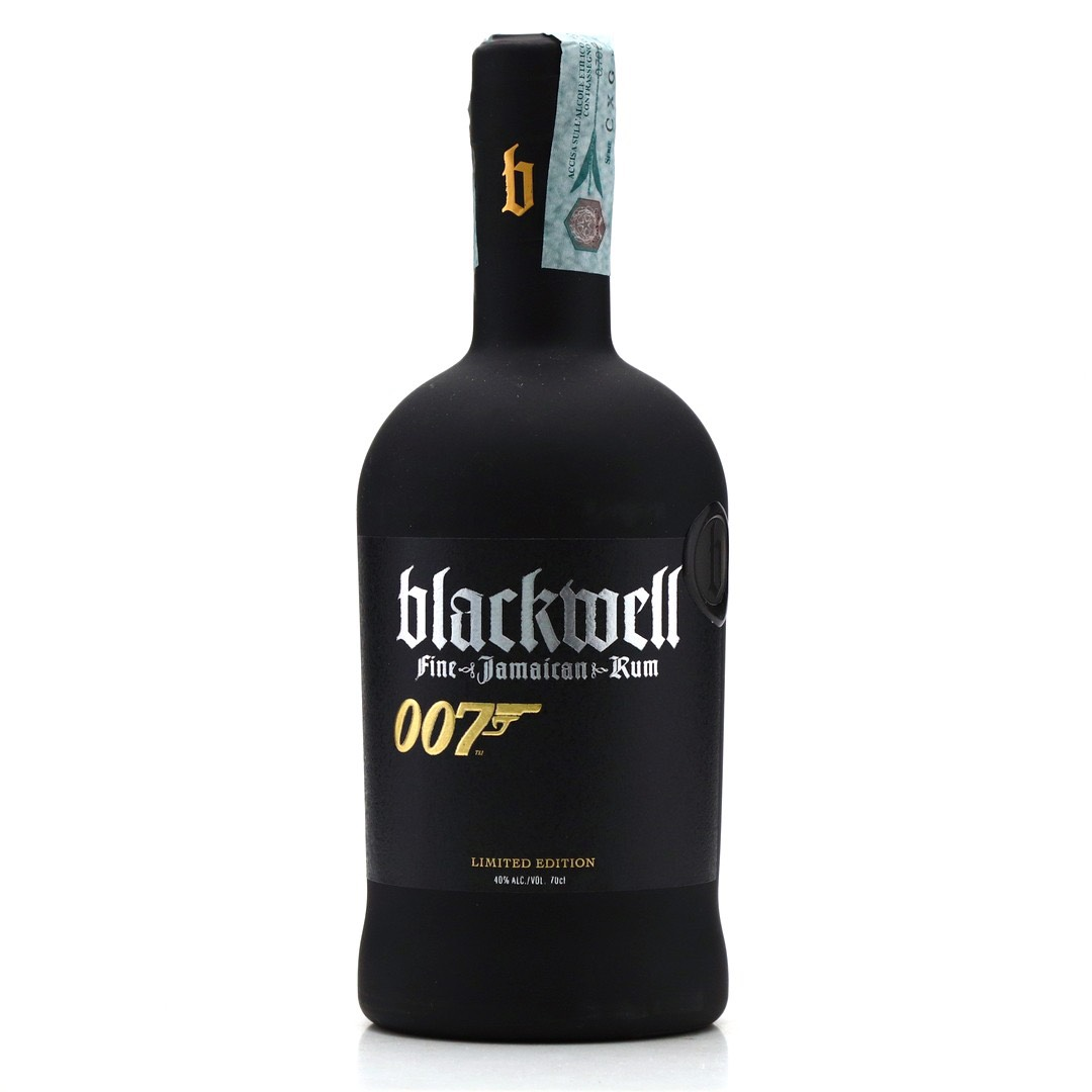 Bottle image of Blackwell Fine Jamaican Rum - Limited Edition 007